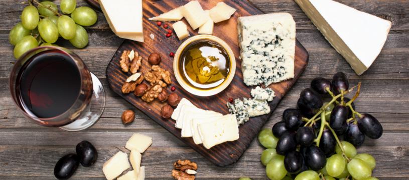 Quels vins pour accompagner les fromages ?