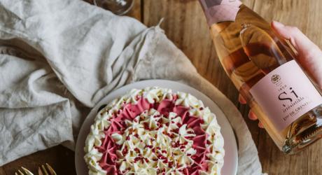 Vacherin glacé aux fruits rouges